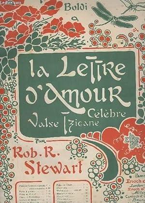 LA LETTRE D'AMOUR - PIANO + VIOLON - VALSE TZIGANE.: STEWART ROBERT