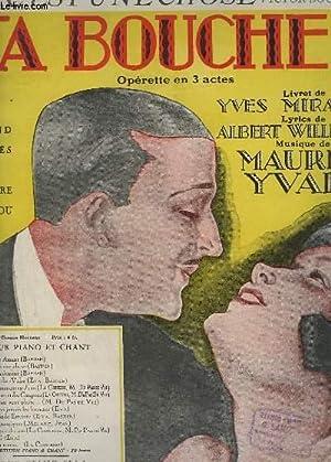 CA, C'EST UNE CHOSE - PIANO + CHANT - TA BOUCHE N°2.: YVAIN MAURICE