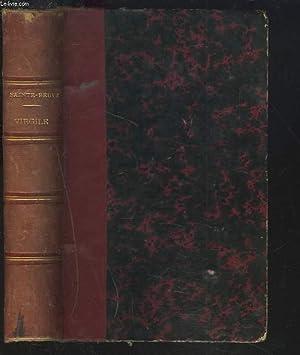 ETUDE SUR VIRGILE, suivie d'une étude sur Quintus de Smyrne.: C.-A. SAINTE-BEUVE