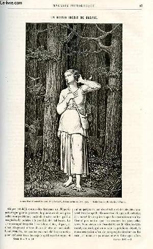 LE MAGASIN PITTORESQUE - Livraison n°02 - Un dessin indédit de Gleyre, par Ed. S.: ...