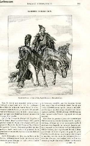 LE MAGASIN PITTORESQUE - Livraison n°12 - La retraite de Russie (1812) par Lesbazeilles.: ...