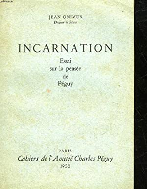 INCARNATION: ONIMUS JEAN