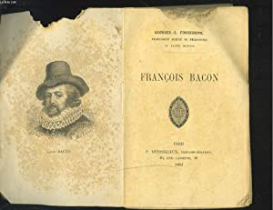 FRANCOIS BACON: GEORGES-L. FONSEGRIVE
