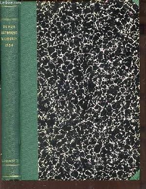 REVUE HISTORIQUE - BULLETIN HISTORIQUE DE LA SUISSE ROMANDE / ANNEE 1904 / LES BAILLIS D&...