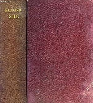 SHE, A HISTORY OF ADVENTURE, 2 VOLUMES: HAGGARD H. RIDER