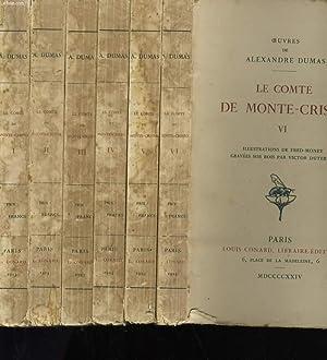 LE COMTE DE MONTE CRISTO. EN 6: ALEXANDRE DUMAS.