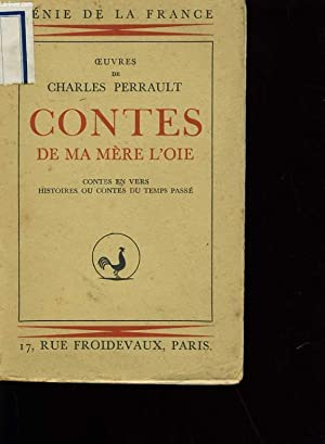 OEUVRES DE CHARLES PERRAULT. CONTES DE MA MERE L'OIE.: CHARLES PERRAULT.