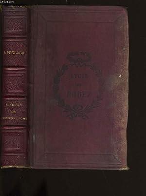 LES DIEUX DE L'ANCIENNE ROME. MYTHOLOGIE ROMAINE.: L. PRELLER.