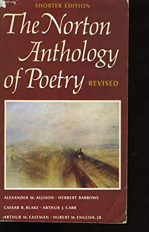 THE NORTON ANTHOLOGY OF POETRY.: COLLECTIF.