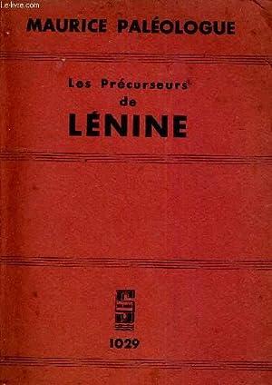 LES PRECURSEURS DE LENINE.: MAURICE APLEOLOGUE