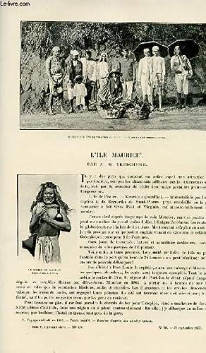 Le tour du monde - journal des voyages - nouvelle série- livraison n°38 - L'î...