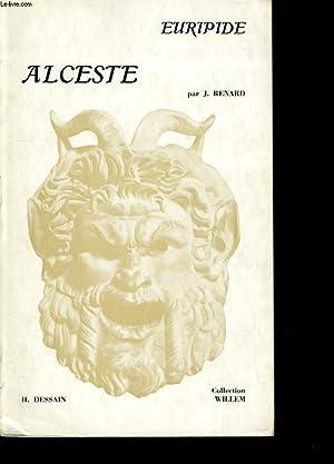 EURIPIDE ALCESTE.: JEAN RENARD.