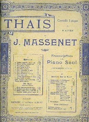 THAIS: MASSENET J.