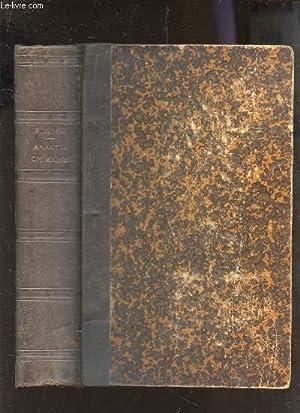 TRAITE D'ANALYSE PAR LA METHODE DES LIQUEYRS TITREES / TROISIEME EDITION FRANCAISE.: MOHR...