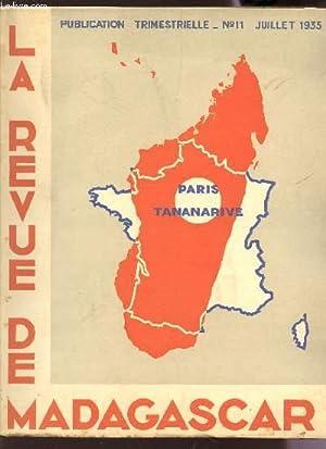 LA REVUE DE MADAGASCAR - N°11 -: COLLECTIF
