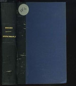 ETUDES SUR LA RENAISSANCE. Renaissance et Réforme : Erasme, Thomas Morus, Mélanchthon.: D. NISARD