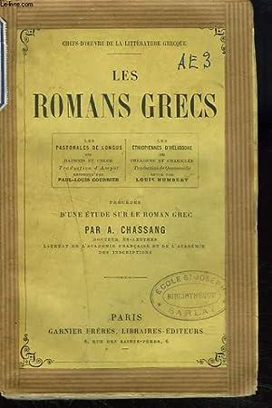 LES ROMANS GRECS: A. CHASSANG