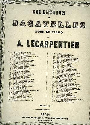 159EME BAGATELLE SUR LE POSTILLON DE LONGJUMEAU: LE CARPENTIER Ad.
