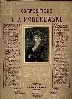MENUET: PADEREWSKI I.J.