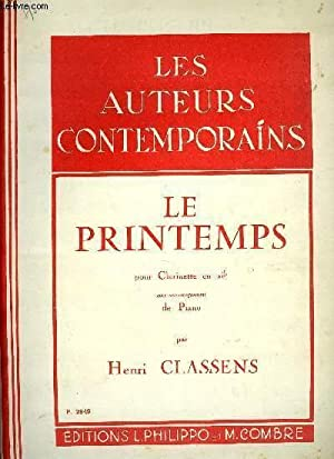 LE PRINTEMPS: CLASSENS Henri