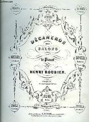 DECAMERON DES SALONS: ROUBLIER Henri