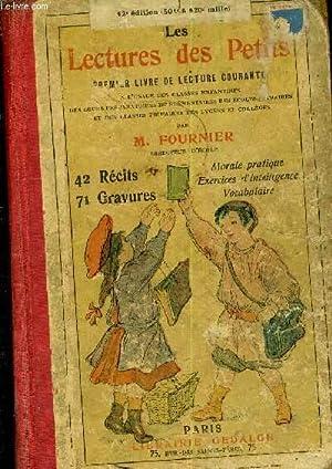 LES LECTURES DES PETITS - PREMIER LIVRE: M.FOURNIER