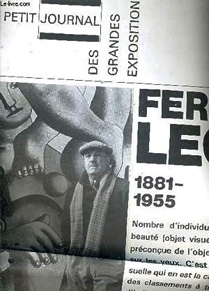 LE PETIT JOURNAL DES GRANDES EXPOSITIONS 16 OCTOBRE 1971 - 10 JANVIER 1972 - FERNAND LEGER 1881-...