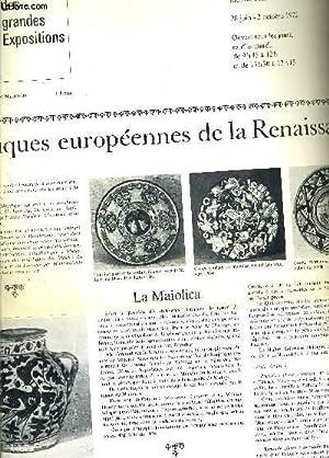 LE PETIT JOURNAL DES GRANDES EXPOSITIONS - MUSEE NATIONAL DE CERAMIQUE 28 JUIN 2 OCOTBRE 1972 - ...