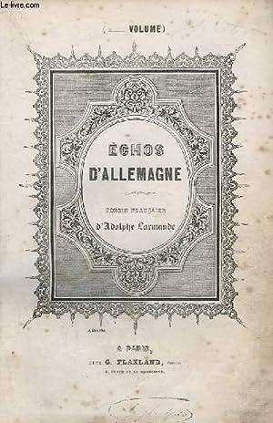 ECHOS D'ALLEMAGNE - VOLUME 1 : OU: COLLECTIF