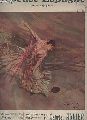 JOYEUSE ESPAGNE - VALSE ESPAGNOLE POUR PIANO.: ALLIER GABRIEL