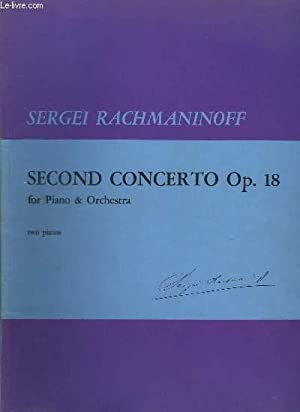 SECOND CONCERTO OP.18 - FOR PIANO &: RACHMANINOFF SERGEI