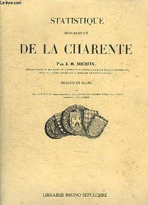 Statistique monumentale de la Charente.: MICHON J.H.
