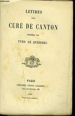 LETTRES D'UN CURE DE CANTON: YVES LE QUERDEC