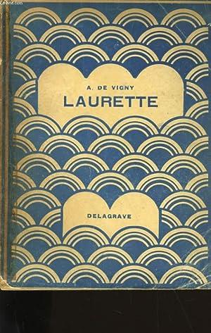 LAURETTE.: A. DE VIGNY.