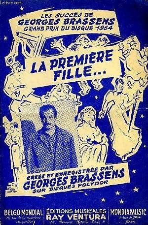 LA PREMIERE FILLE: BRASSENS Georges