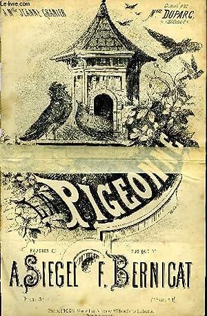 LA PIGEONNE: BERNICAT Firmin / SIEGEL A.