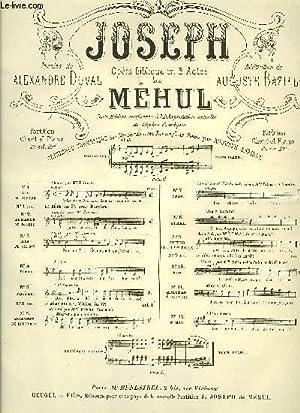 JOSEPH: MEHUL / DUVAL Alexandre