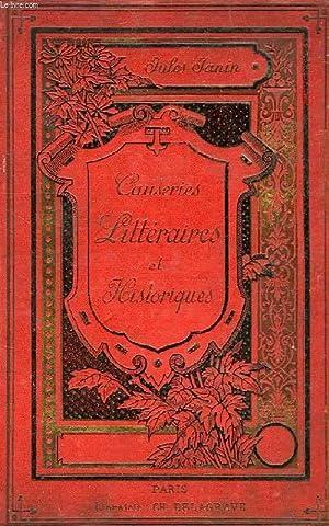 CAUSERIES LITTERAIRES ET HISTORIQUES: JANIN JULES