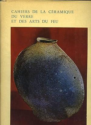 CAHIERS DE LA CERAMIQUE DU VERRE ET DES ARTS DU FEU - N° 39 + SUPPLEMENT: COLLECTIF