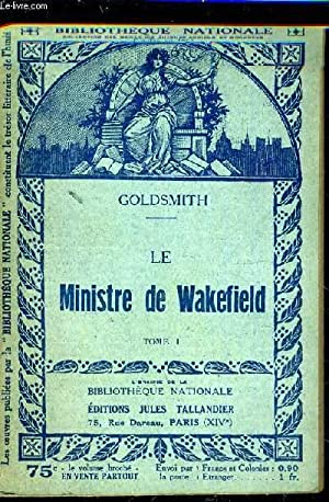 LE MINISTRE DE WAKEFIELD - TOME 1.: GOLDSMITH