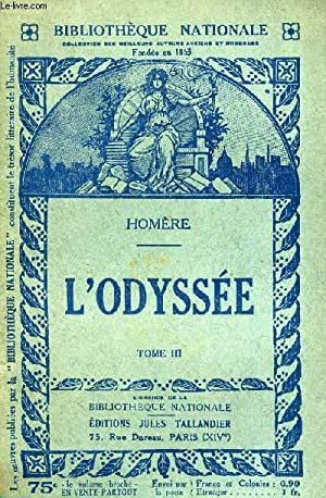 L'ODYSSEE TOME 3.: HOMERE