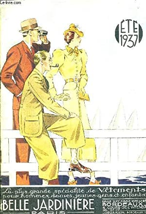 BELLE JARDINIERE VETEMENT PARIS ETE 1937.: COLLECTIF