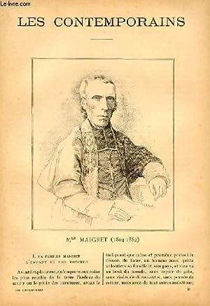 Mgr Maigret (1804-1882).: LES CONTEMPORAINS N°38 - D. Leroux.