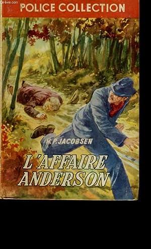 L'AFFAIRE ANDERSON.: H. P. JACOBSEN.