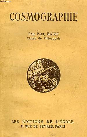 COSMOGRAPHIE, CLASSE DE PHILOSOPHIE: BAIZE PAUL