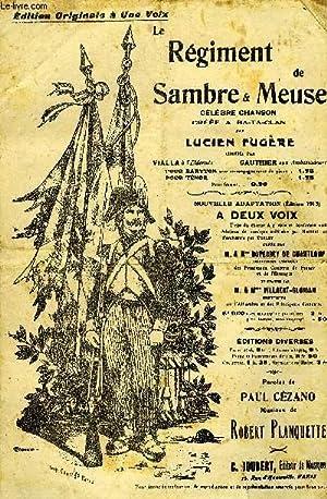 LE REGIMENT DE SAMBRE ET MEUSE: PLANQUETTE Robert /