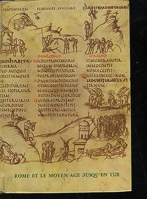 HISTOIRE ROME ET LE MOYEN AGE JUSQU'EN 1328: DURIF FRANCOIS - LABAL PAUL