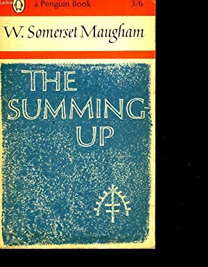 THE SUMMING UP: MAUGHAM SOMERSET