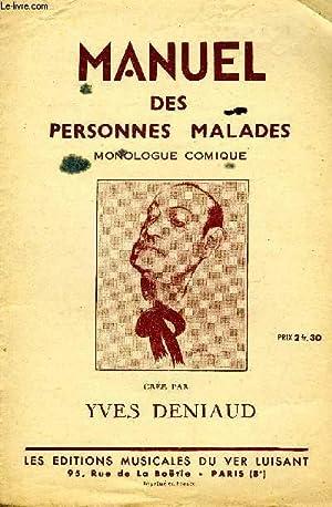 MANUEL DES PERSONNES MALADES: BACHELET Léo