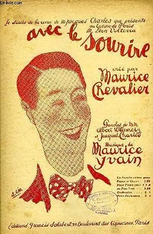 AVEC LE SOURIRE: YAVAIN Maurice / WILLEMETZ Albert / CHARLES J.